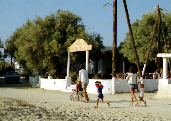 Agios Prokopios in the 80s