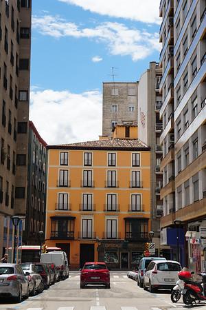 Street in Zaragoza