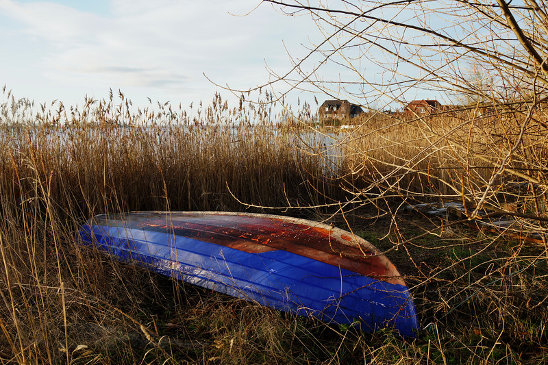 Upturned Boat in Fehmarn