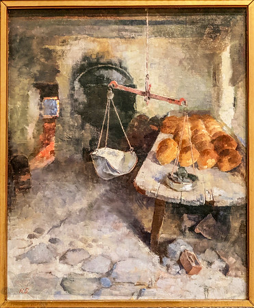 The Bakery - Helene Schjerfbeck
