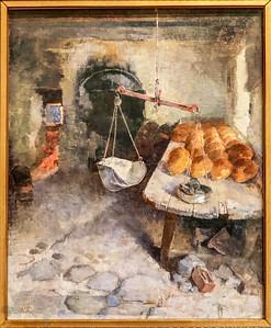 The Bakery - Helene Schjerfbeck
