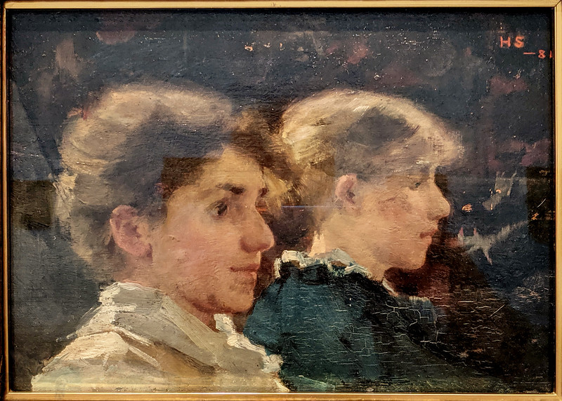 Two Profiles - Helene Schjerfbeck