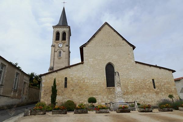 Church of Saint Jacques - Aubeterre Sur Dronne - France