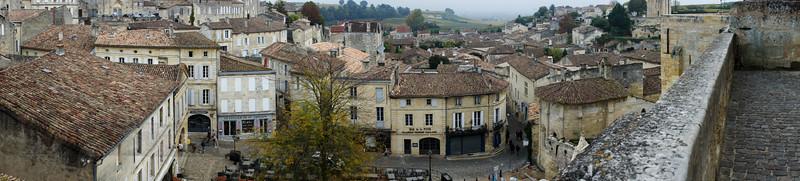 Vista of Saint-Emillion
