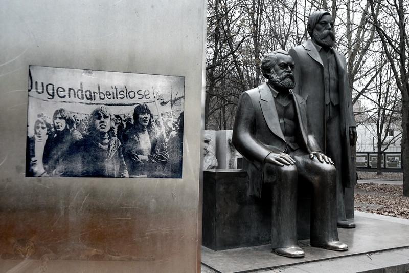 Marx Engels Forum - Sculpture and Photos