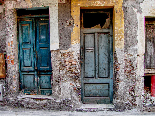 Old Doors in Taormina