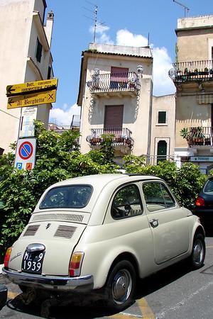 Fiat 500 Cinquecento - Sicily