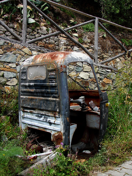 Van Abandoned in Sicily