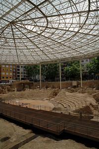 Roman Theatre in Huesca