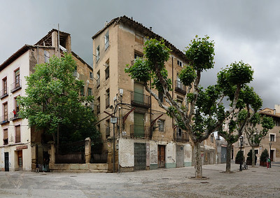 A Square in Huesca
