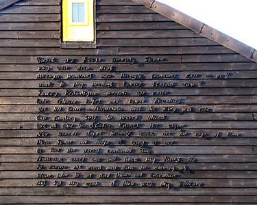 Prospect Cottage Poem
