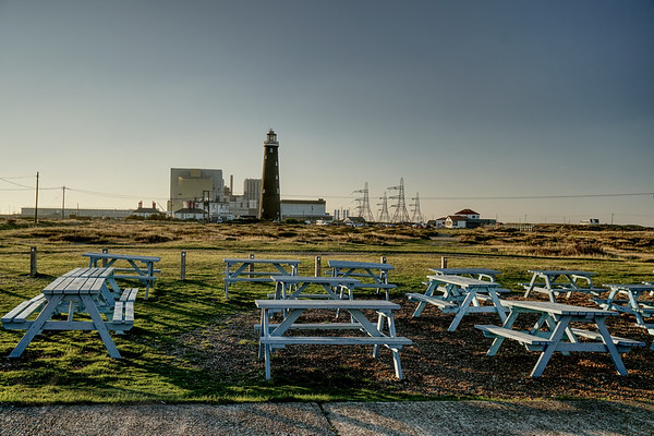 Lighthouse and Power Station at Dungeness