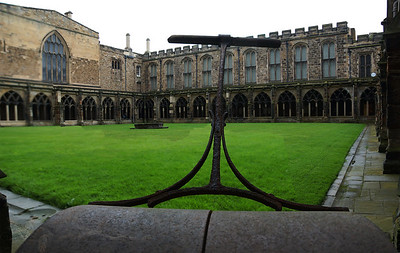 Durham Cathedral - Cloisters and Roller