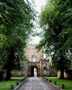 Durham Castle Entrance
