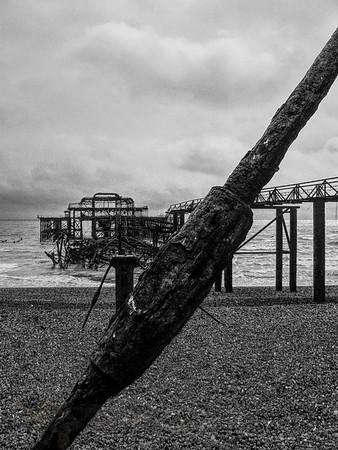 Brighton Pier - 2005 - Monochrome