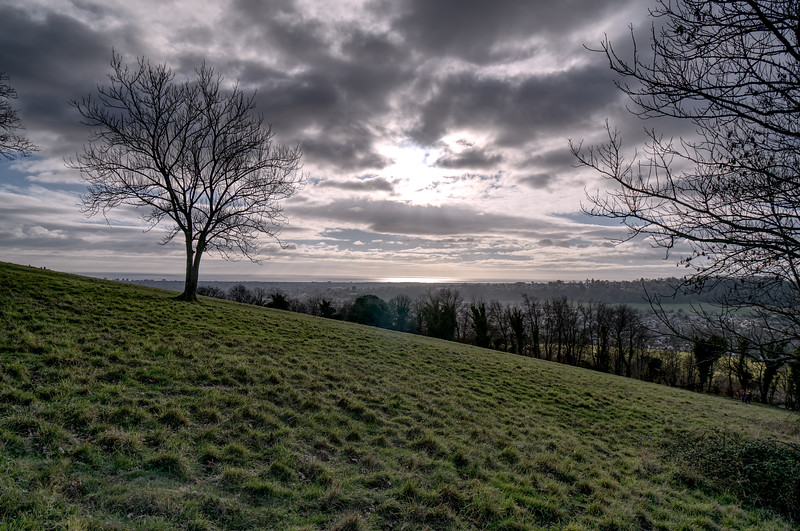 Cissbury Ring Hill Fort - West Sussex