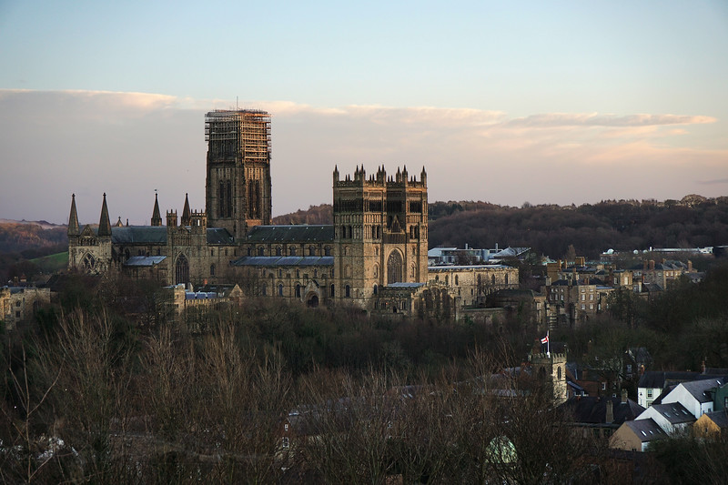 Durham Catherdral from Wharton Park