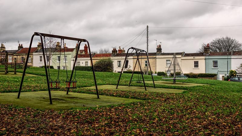 A Deserted Playground in Bath