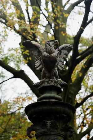 Eagle Statue - Bath