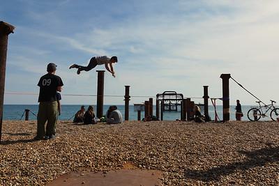 Brighton - Tightrope Acrobatics