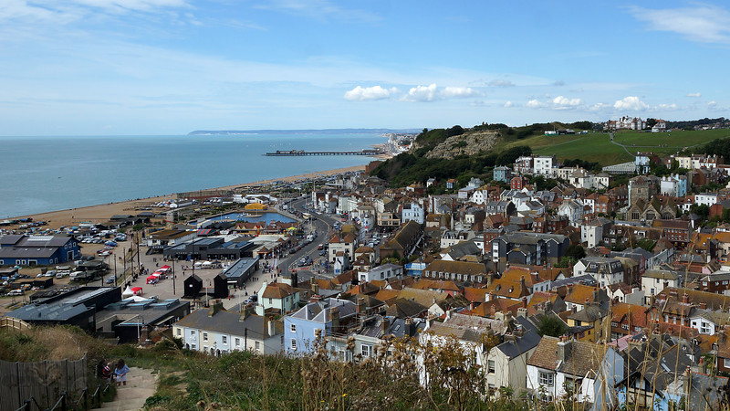 Hastings - View from Cliffs