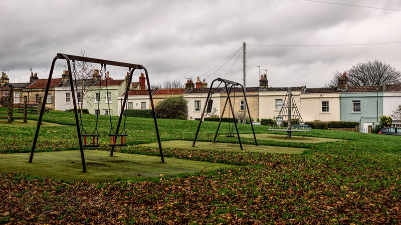A Deserted Playground in Bath