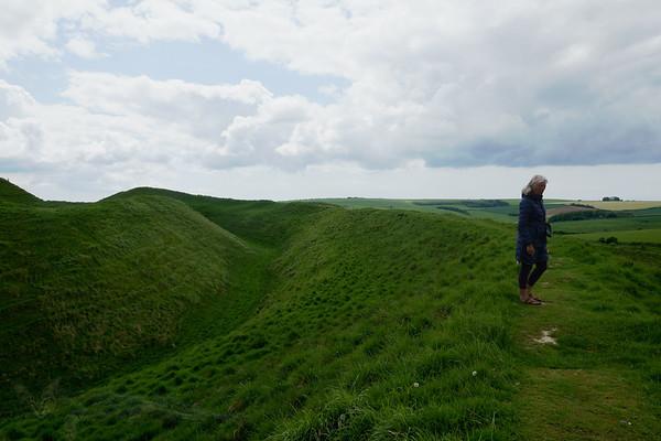Maiden Castle - Iron Age Hill Fort - Dorset