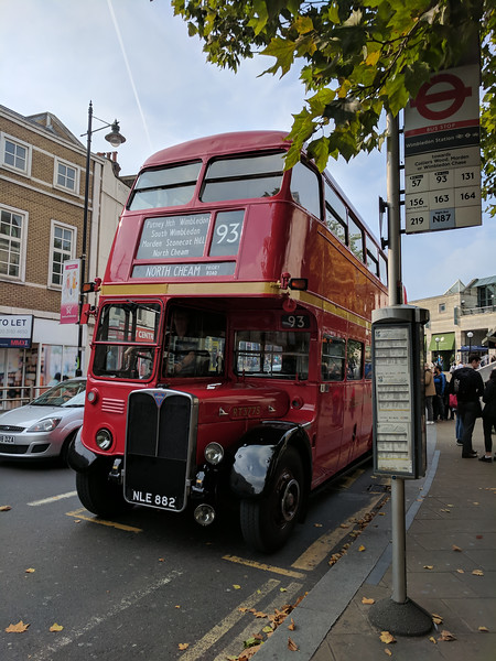Number 93 London Bus