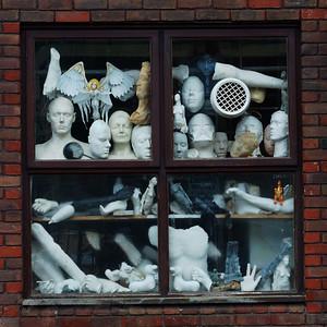 Window at Wimbledon College of Arts