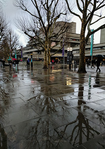 Rainy Day on the Southbank