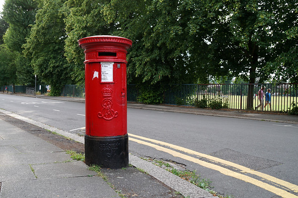 Avebury Road - Pillar Box