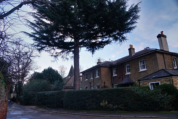 Church Path - The Vicarage and St Mary's