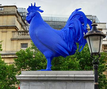 Hahn i.e. Cock - Trafalgar Square