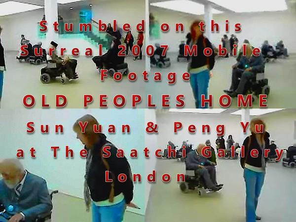 Saatchi Gallery - Old Peoples Home