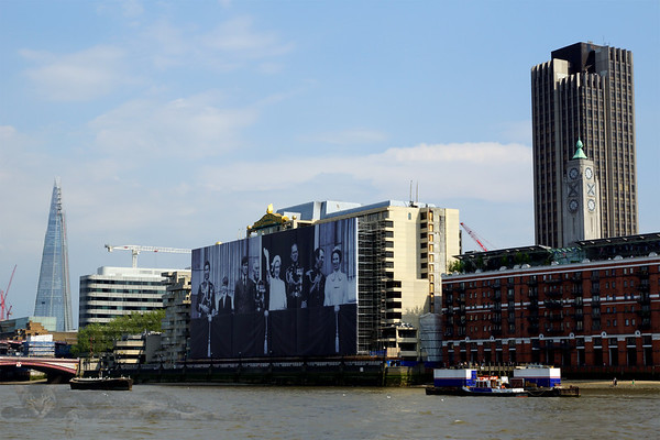 Royal Billboard on Sea Containers House