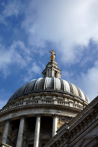 St Pauls's Cathedral - Dome and Sky