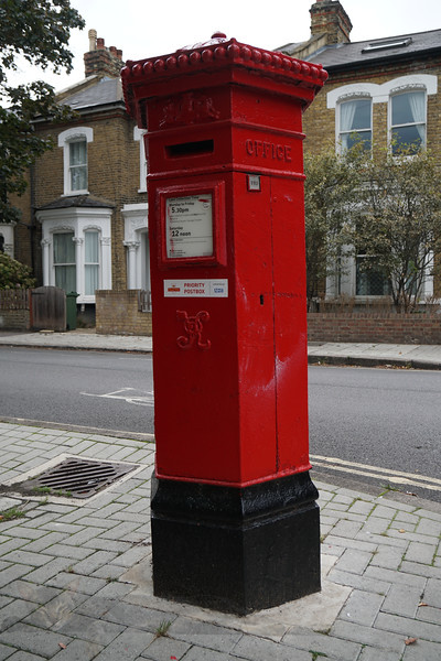 Brixton - Victorian Red Pillar Box