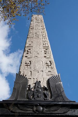 Cleopatra's Needle on Victoria Embankment