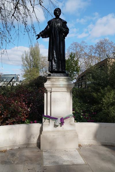 Emmeline & Christabel Pankhurst Memorial
