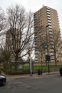 Tower Blocks off Dulwich Road
