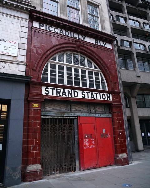 Strand Station - Now Aldwych Station