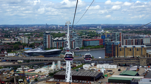 Emirates Airline - Cable Car across the Thamesin London