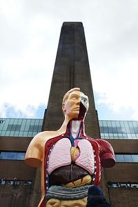 Tate Modern - Hymn by Damien Hirst