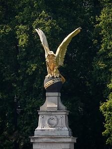 RAF Memorial Gilded Eagle - London