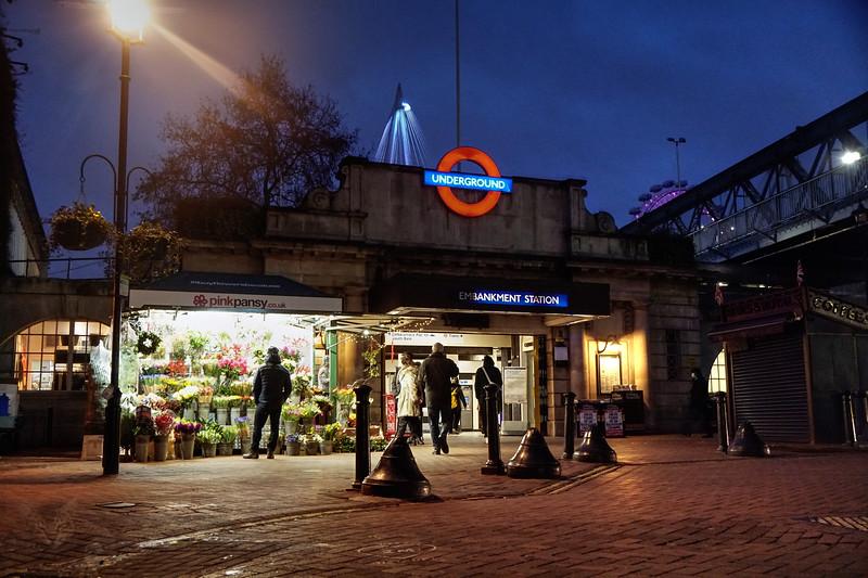 Villiers Street - Embankment Station