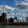 Battersea Power Station in rebuild