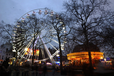 Christmas Fun in Leicester Square
