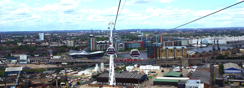 Emirates Airline Cable Car in London