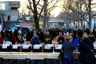 Book Market under Waterloo Bridge