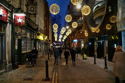 Villiers Street - Christmas Decorations